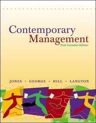 Contemporary Management: Gareth R Jones,