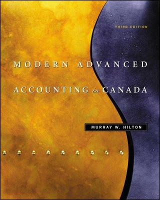 9780070893962: Modern Advanced Accounting in Canada