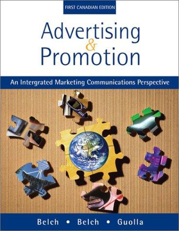 9780070898585: Advertising & Promotion