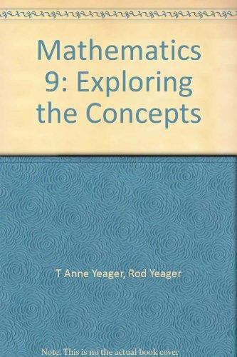 9780070898912: Mathematics 9: Exploring the Concepts