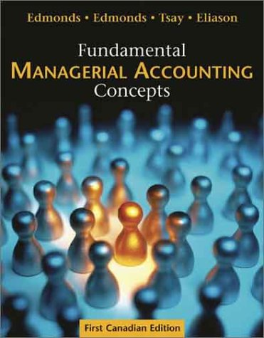 9780070900493: Fundamental Managerial Accounting Concepts