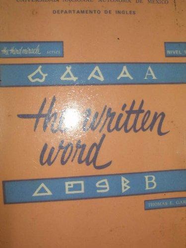 9780070906884: Written Word