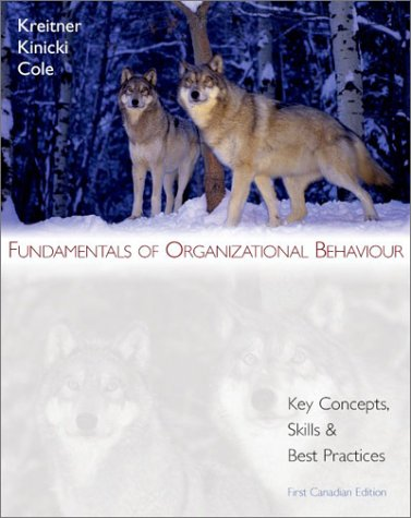 9780070910911: Fundamentals of Organizational Behaviour