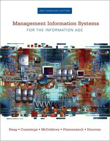 9780070911208: Management Information Systems for the Information Age
