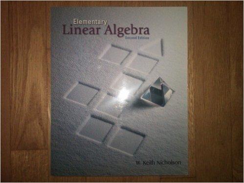 9780070911420: Elementary Linear Algebra