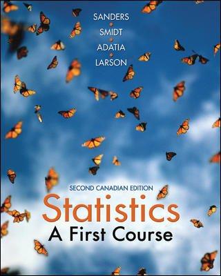 9780070911772: Statistics : A First Course