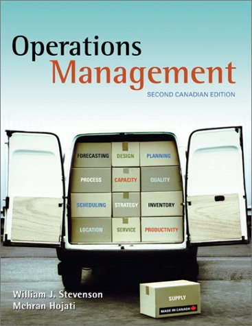 9780070911895: Operations Management