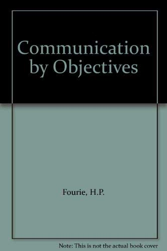 9780070912243: Communication by Objectives