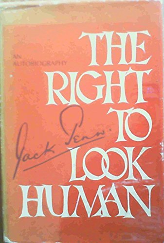 9780070912830: Right to Look Human
