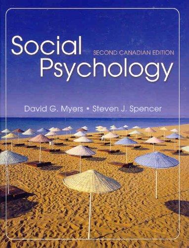 9780070913974: Social Psychology