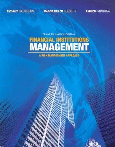 Financial Institutions Management: Saunders, Anthony; Cornett,