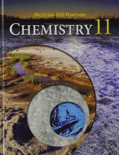 9780070915756: Chemistry 11U Student Edition