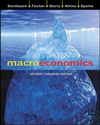 9780070916166: Macroeconomics, 7th Canadian edition