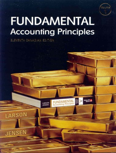 9780070916494: Fundamental Accounting Principles, Volume 1