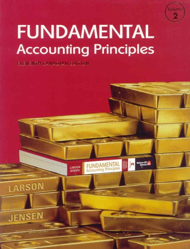 9780070916524: Fundamental Accounting Principles, Volume 2