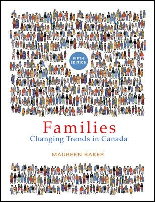 9780070916852: FAMILIES: Changing Trends in Canada (Fifth Edition)