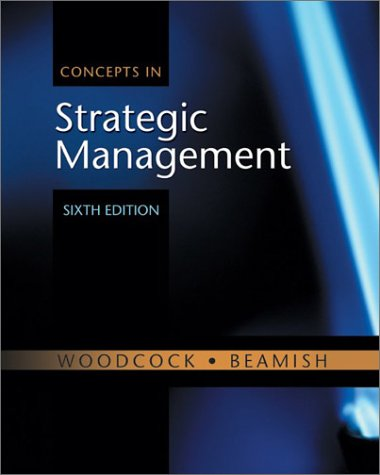 9780070917194: Concepts in Strategic Management