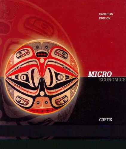 9780070917231: Microeconomics, Cdn edition