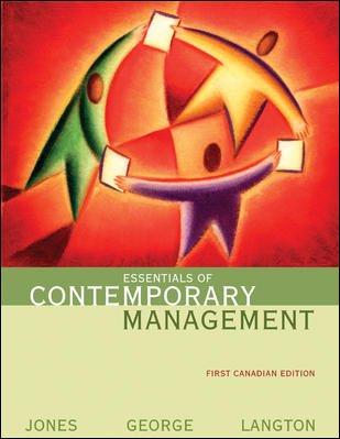 9780070918160: Essentials of Contemporary Management