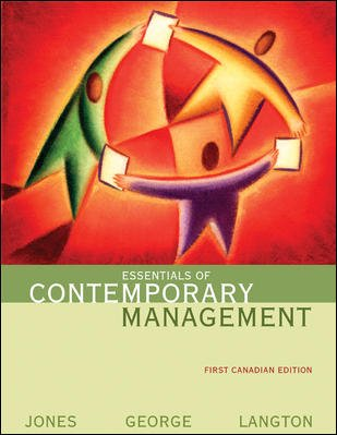 Essentials Of Contemporary Management ***CD Included**
