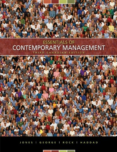 9780070918368: Essentials of Contemporary Management, Third CDN Edition with Connect Access Card