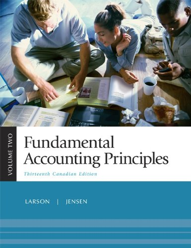 9780070918443: Fundamental Accounting Principles, Volume 2, Thirteenth CDN Edition with Connect Access Card
