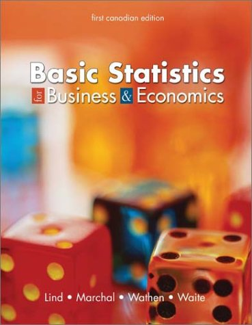 Basic Statistics for Business and Economics: Douglas A. Lind,