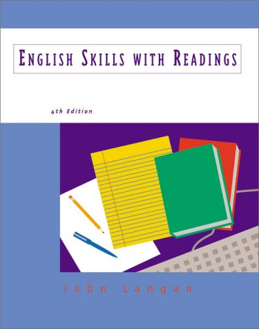 9780070920637: English Skills With Readings