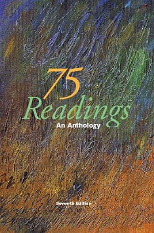 9780070920675: 75 Readings: An Anthology