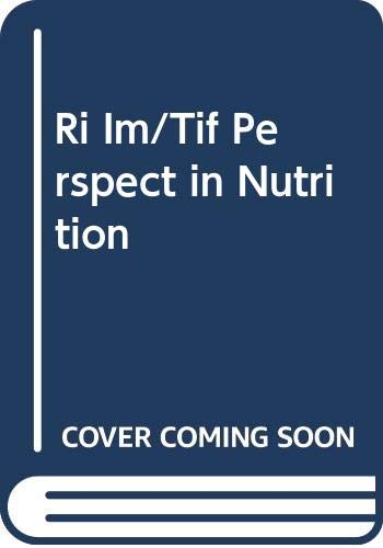 9780070920798: Ri Im/Tif Perspect in Nutrition