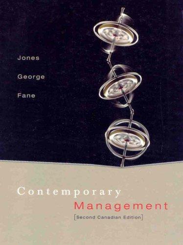 9780070922013: Contemporary Management