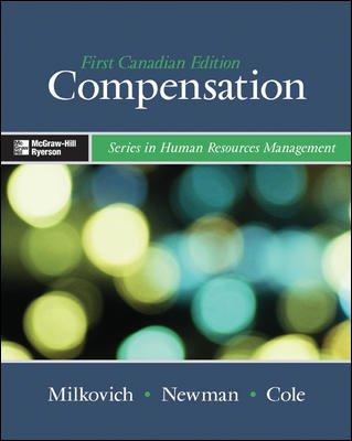 Compensation: George Milkovich, Jerry