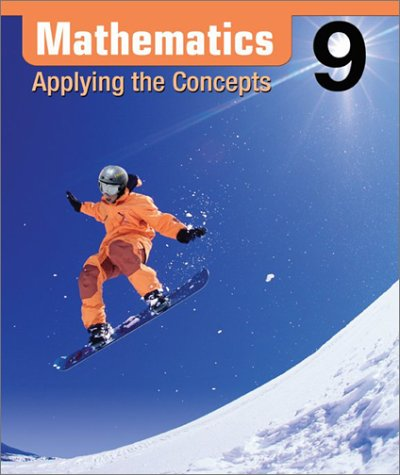 9780070922426: Mathematics : Applying the Concepts 9