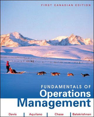 9780070922839: Fundamentals of Operations Management