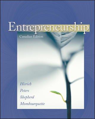 9780070922921: Entrepreneurship