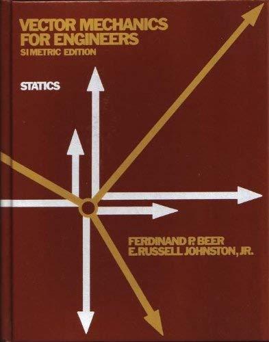 9780070923829: Vector Mechanics for Engineers: Statics (Simetric Edition)
