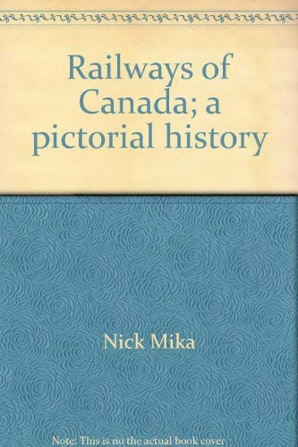 9780070927766: Railways of Canada;: A pictorial history