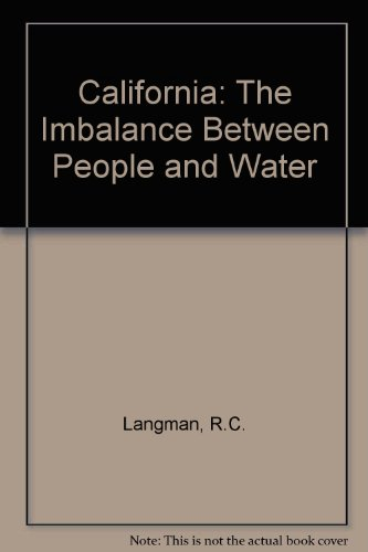9780070927988: California: the imbalance between people and water, (Selected studies in the United States)