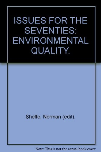 9780070928596: Environmental quality (Issues for the seventies)