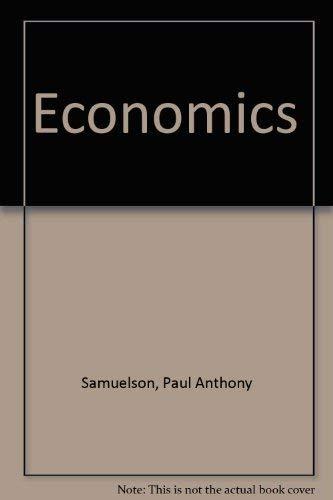 9780070928633: Economics