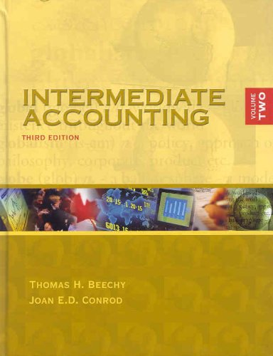 9780070930353: Intermediate Accounting Volume 2