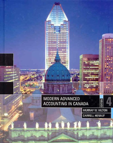 9780070930377: Modern Advanced Accounting in Canada