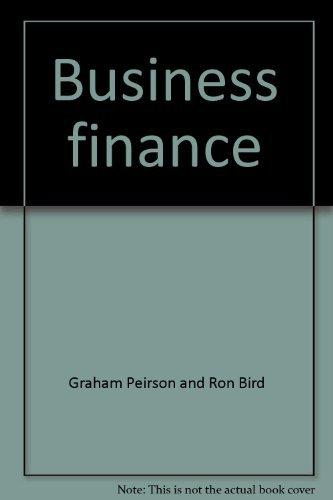 9780070931022: Business finance
