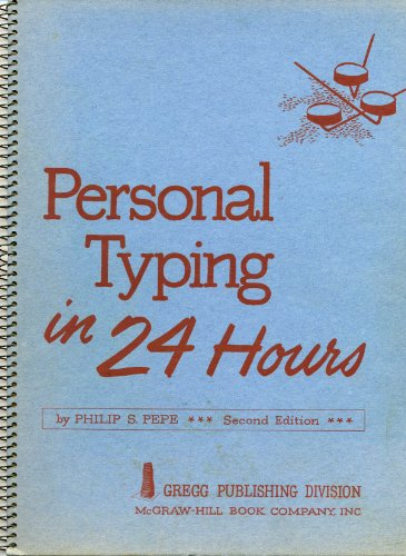 9780070931220: Personal typing in 24 hours