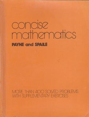 9780070931848: Concise Mathematics