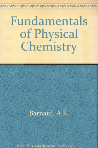9780070940192: Fundamentals of Physical Chemistry