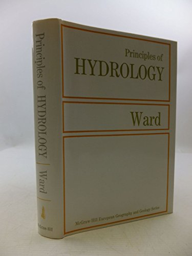 9780070940475: Principles of Hydrology (McGraw-Hill European geography and geology series)