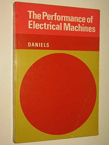 9780070940635: Performance of Electrical Machines