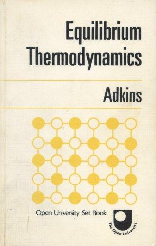9780070940659: Equilibrium Thermodynamics