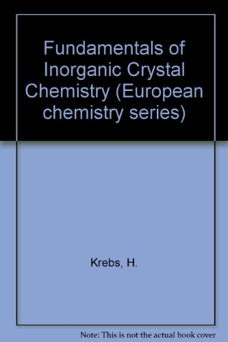 9780070940666: Fundamentals Of Inorganic Crystal Chemistry